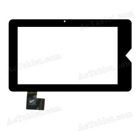 PB70DR8071-R1-G Digitizer Glass Touch Screen Replacement for 7 Inch MID Tablet PC