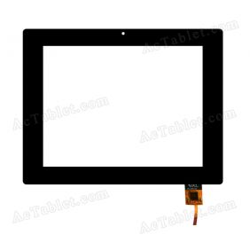 300-L3505F-A00 Digitizer Glass Touch Screen Replacement for 8 Inch MID Tablet PC