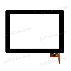 HOTATOUCH C184237A1-GG DRFPC104T-V4.0 Digitizer Glass Touch Screen Replacement for 9.7 Inch MID Tablet PC