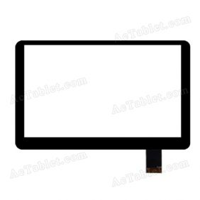 AD-C-700029-2-FPC Digitizer Glass Touch Screen Replacement for 7 Inch MID Tablet PC