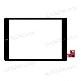 RAECE 0869-1010 Digitizer Glass Touch Screen Replacement for 7.9 Inch MID Tablet PC