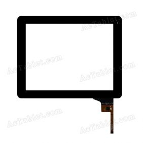 AD-C-970078-1-FPC Digitizer Glass Touch Screen Replacement for 9.7 Inch MID Tablet PC