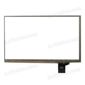 C099164A1 DRFPC077T-V1.0 Digitizer Glass Touch Screen Replacement for 7 Inch MID Tablet PC