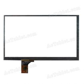 C164099B1-FPC676DR Digitizer Glass Touch Screen Replacement for 7 Inch MID Tablet PC