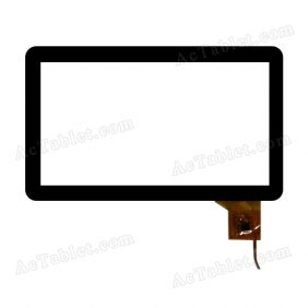 DPT-GROUP 300-N3763C-A00 Digitizer Glass Touch Screen Replacement for 10.1 Inch MID Tablet PC