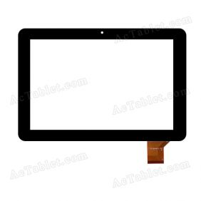WJ-DR10033 Digitizer Glass Touch Screen Replacement for 10.1 Inch MID Tablet PC