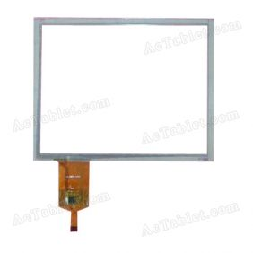 WJ-DR80012-FPC Digitizer Glass Touch Screen Replacement for 8 Inch MID Tablet PC