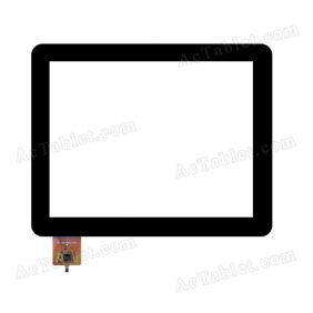 WJ-DR97015-FPC Digitizer Glass Touch Screen Replacement for 9.7 Inch MID Tablet PC