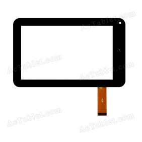 W70 Digitizer Glass Touch Screen Replacement for 7 Inch MID Tablet PC