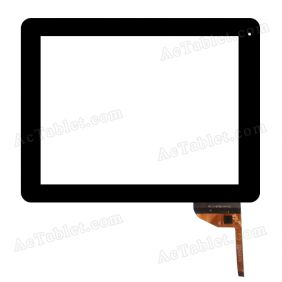 AD-C-970574-FPC Digitizer Glass Touch Screen Replacement for 9.7 Inch MID Tablet PC