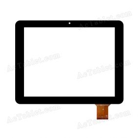 WJ-DR97027FPC Digitizer Glass Touch Screen Replacement for 9.7 Inch MID Tablet PC