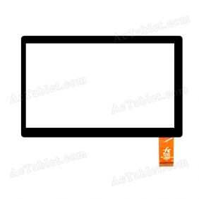 FPC-TP070252-00 Digitizer Glass Touch Screen Replacement for 7 Inch MID Tablet PC