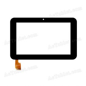 Z7Z185 V6.0 Digitizer Glass Touch Screen Replacement for 7 Inch MID Tablet PC