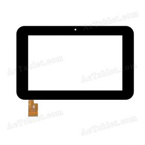 TPC1053 VER1.0 Digitizer Glass Touch Screen Replacement for 7 Inch MID Tablet PC