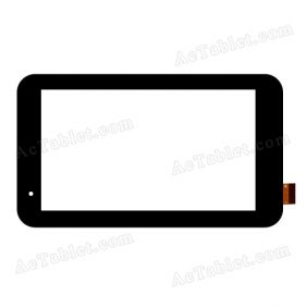 WJ350-V1.0 Digitizer Glass Touch Screen Replacement for 7 Inch MID Tablet PC