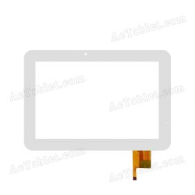 AD-C-100971-FPC Digitizer Glass Touch Screen Replacement for 10.1 Inch MID Tablet PC
