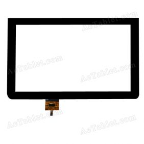 FPC-CTP-1010-066-2 Digitizer Glass Touch Screen Replacement for 10.1 Inch MID Tablet PC