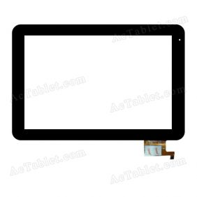 YTG-P10005-F15 Digitizer Glass Touch Screen Replacement for 10.1 Inch MID Tablet PC