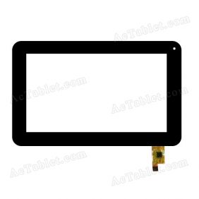 TOPSUN-C0133-A1 Digitizer Glass Touch Screen Replacement for 7 Inch MID Tablet PC