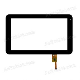 TOPSUN_G1001_A1 Digitizer Glass Touch Screen Replacement for 10.1 Inch MID Tablet PC