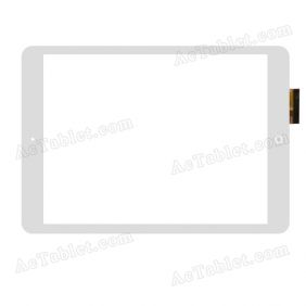 RS10F490_V1.1 Digitizer Glass Touch Screen Replacement for 9.7 Inch MID Tablet PC