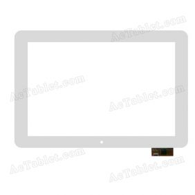 YTG-P10005-F13 Digitizer Glass Touch Screen Replacement for 10.1 Inch MID Tablet PC