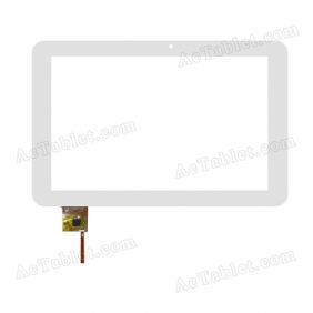 YTG-P10004-F9 Digitizer Glass Touch Screen Replacement for 10.1 Inch MID Tablet PC
