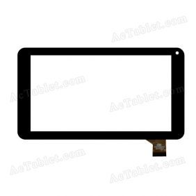 FM711501KA Digitizer Glass Touch Screen Replacement for 7 Inch MID Tablet PC