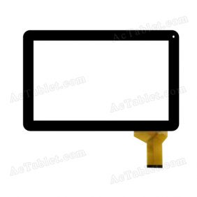 ZP9120-101 FPC VER.00 Digitizer Glass Touch Screen Replacement for 10.1 Inch MID Tablet PC