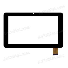 HY TPC-51072 V3.0 Digitizer Glass Touch Screen Replacement for 7 Inch MID Tablet PC