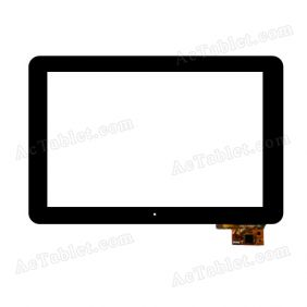 300-L4096A-B00 V1.0 Digitizer Glass Touch Screen Replacement for 10.1 Inch MID Tablet PC