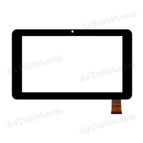 HSCTP-166 Digitizer Glass Touch Screen Replacement for 7 Inch MID Tablet PC