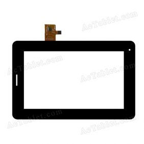 GCP023FPC-A2 LLT-P26590C Digitizer Glass Touch Screen Replacement for 7 Inch MID Tablet PC