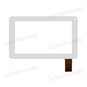 HSCTP196 Digitizer Glass Touch Screen Replacement for 7 Inch MID Tablet PC
