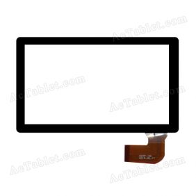 HSCTP-100 Digitizer Glass Touch Screen Replacement for 7 Inch MID Tablet PC