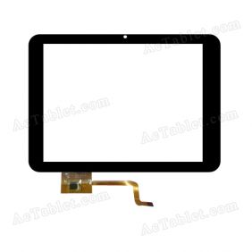 EST-04-0800-0272 V2 Digitizer Glass Touch Screen Replacement for 8 Inch MID Tablet PC