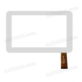 HSCTP-005 Digitizer Glass Touch Screen Replacement for 7 Inch MID Tablet PC
