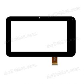 HSCTP-048 Digitizer Glass Touch Screen Replacement for 7 Inch MID Tablet PC