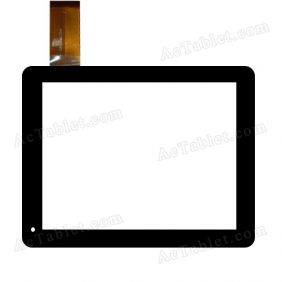 HSCTP-095-A Digitizer Glass Touch Screen Replacement for 8 Inch MID Tablet PC