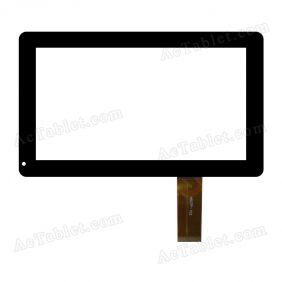 HSCTP-102 Digitizer Glass Touch Screen Replacement for 7 Inch MID Tablet PC