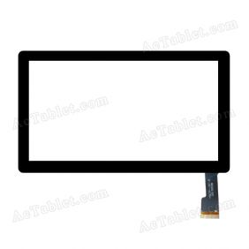 HSCTP-107-B Digitizer Glass Touch Screen Replacement for 7 Inch MID Tablet PC