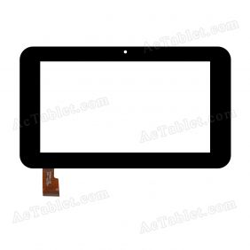 HSCTP-147 Digitizer Glass Touch Screen Replacement for 7 Inch MID Tablet PC