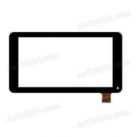 HSCTP-261 Digitizer Glass Touch Screen Replacement for 7 Inch MID Tablet PC