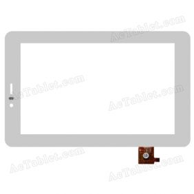 RAYSENS RS7F265_V1.0 Digitizer Glass Touch Screen Replacement for 7 Inch MID Tablet PC