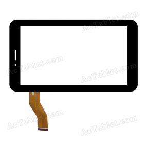 04-0700-1017 V1 Digitizer Glass Touch Screen Replacement for 7 Inch MID Tablet PC