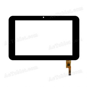 04-0700-1000 V1 Digitizer Glass Touch Screen Replacement for 7 Inch MID Tablet PC
