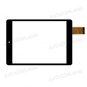 TE-0800-0013 Digitizer Glass Touch Screen Replacement for 7.9 Inch MID Tablet PC