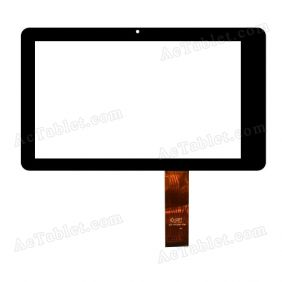 DPT 300-N4108D-B00 Digitizer Glass Touch Screen Replacement for 7 Inch MID Tablet PC