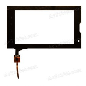 DPT 300-L3813A-A00-VER1.0 Digitizer Glass Touch Screen Replacement for 7 Inch MID Tablet PC