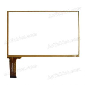 TPT-070-002 Digitizer Glass Touch Screen Replacement for 7 Inch MID Tablet PC
